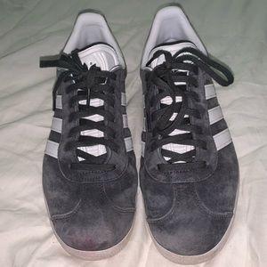 Adidas Grey Swede shoes